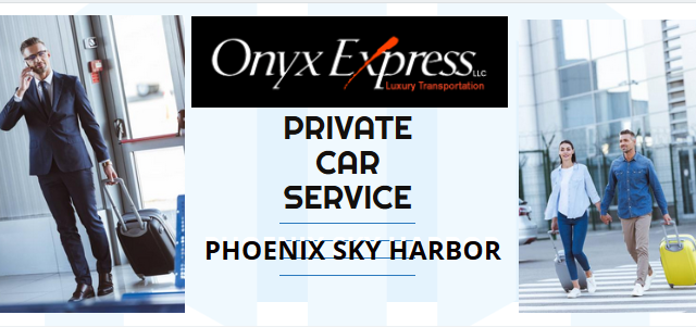 Private Car Service to Phoenix Sky Harbor International