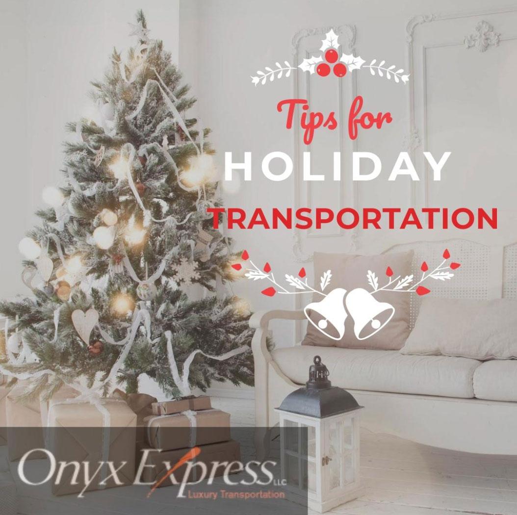 holiday transportation Phoenix